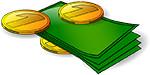 Langhalsschleifer Geld